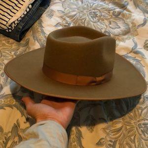 Lack of Color, Teak Rancher hat, 57cm/ Brown